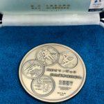 長野オリンピック記念銀メダル
