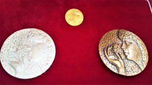 花と緑の博覧会記念メダル