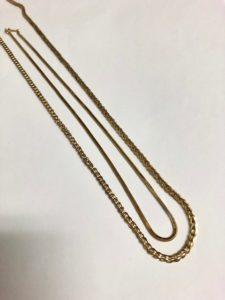 金のネックレス1