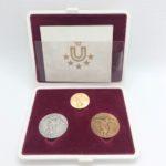 ユニバーシアード東京大会記念メダル